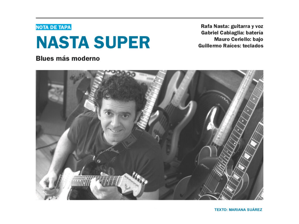Nasta Super - Blues más moderno